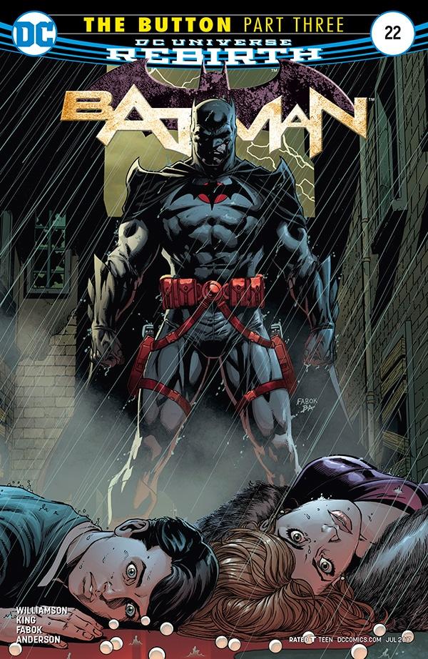 """обложка комикс """"Бэтмен"""" выпуск 22"""