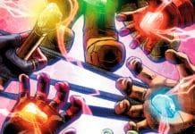 комикс Infinity Countdown