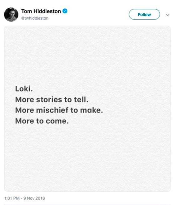 Disney представит серил о Локи