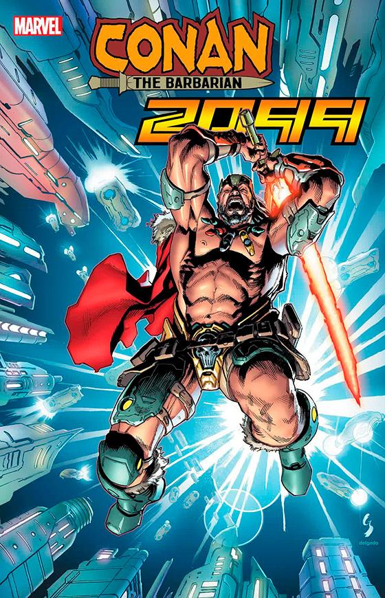 комикс Конан 2099 номер 1