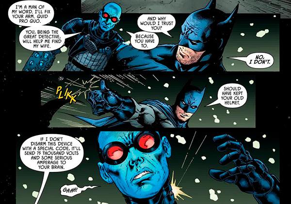 Бэтмен и Мистер Фриз объединяются