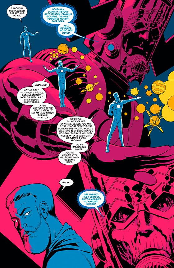 комикс История Вселенной Марвел номер 3