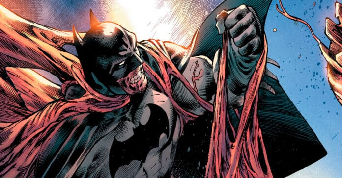 Бэтмен Война Джокера комикс
