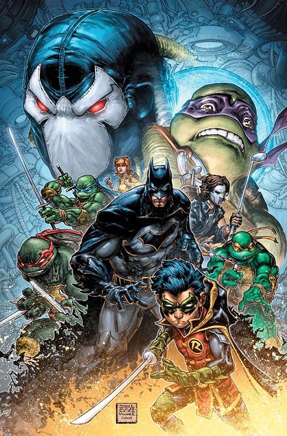 Бэтмен и Черепашки-Ниндзя воссоединяются в «Batman/Teenage Mutant Ninja Turtles II»