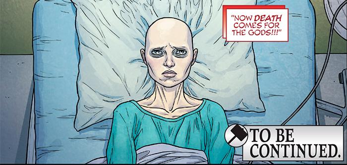 Смерть Могучего Тора комикс